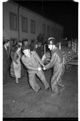 Nachtübung Feuerwehr Losheim